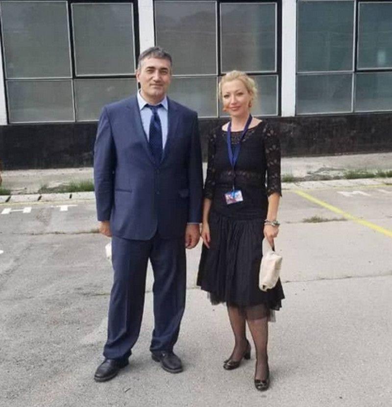 Шан Масоудниа и Јасна Петровић, фото: приватна архива