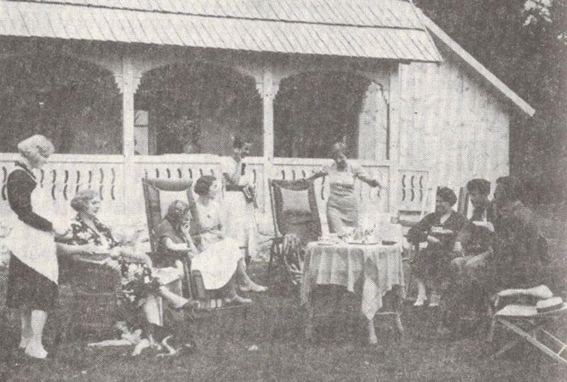 Борисављевићи и гости 1934. године
