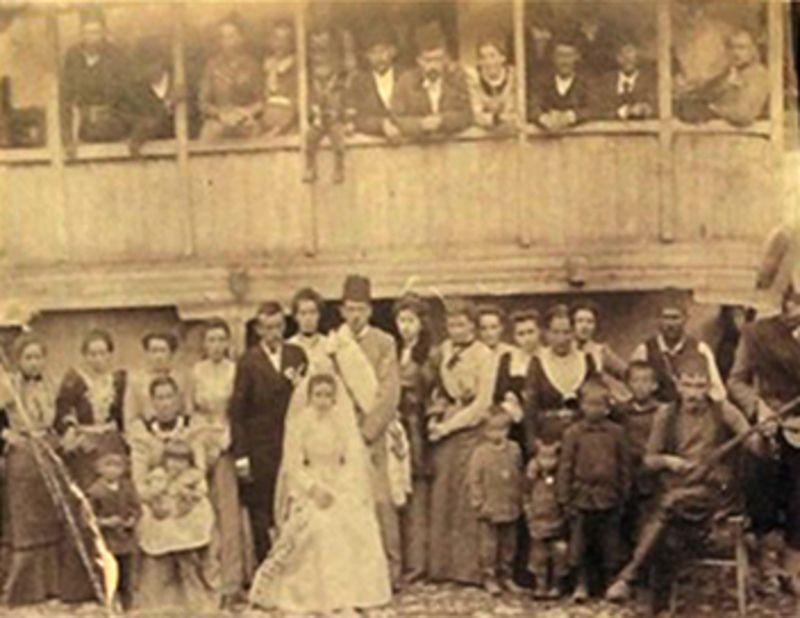 Са венчања у Пљевљима, 12 јула 1902. године