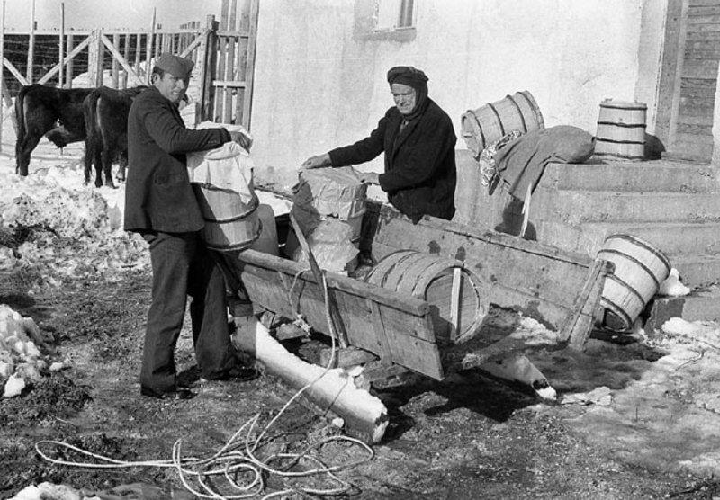 Запрега и саонице једини превоз зими у врлетима Старог Влаха