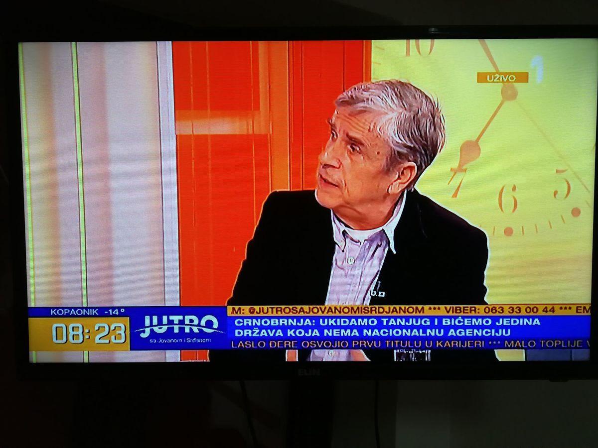 Професор Станко Црнобрња, фото: принтскрин