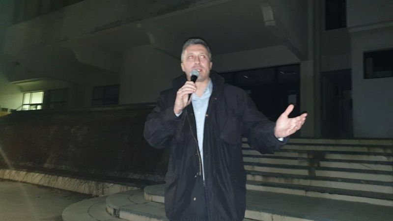 Лидер Двери и један од оснивача Свеза за Србију Бошко Обрадовић
