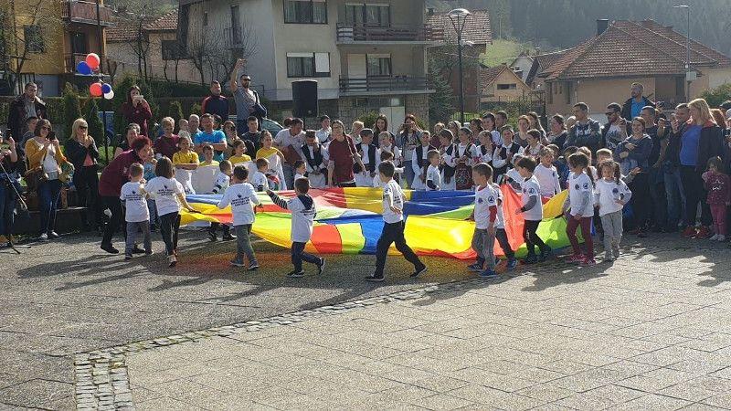 Najmlađi učesnici Male školske olimpijade foto