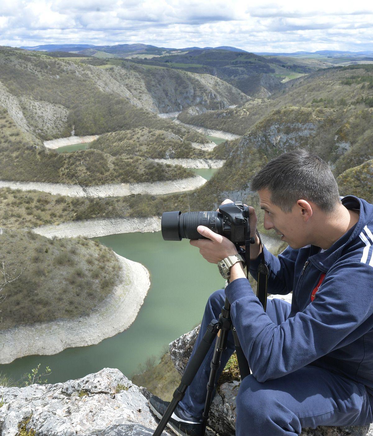 Фотографисање меандара Увца