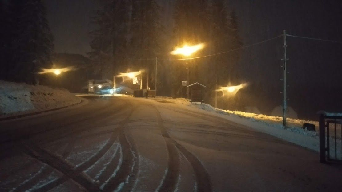 Снег на залатару