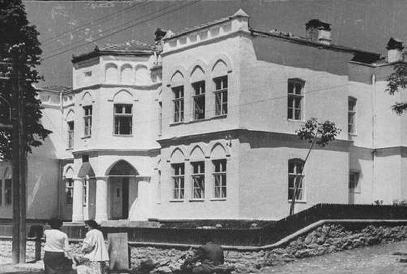 Садашња зграда Библиотеке и Музеја  пре реновирања