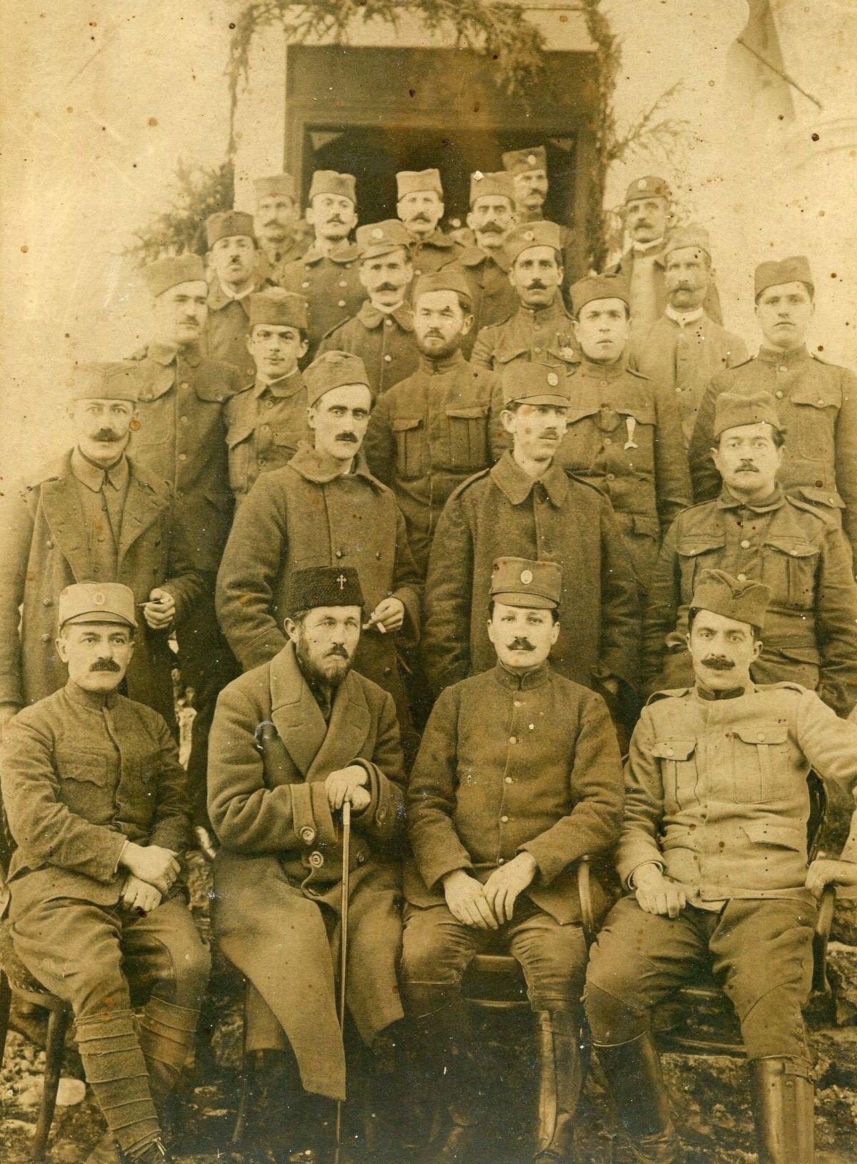 Нововарошки Солунци, 27. јануара 1919. године, пред Општином