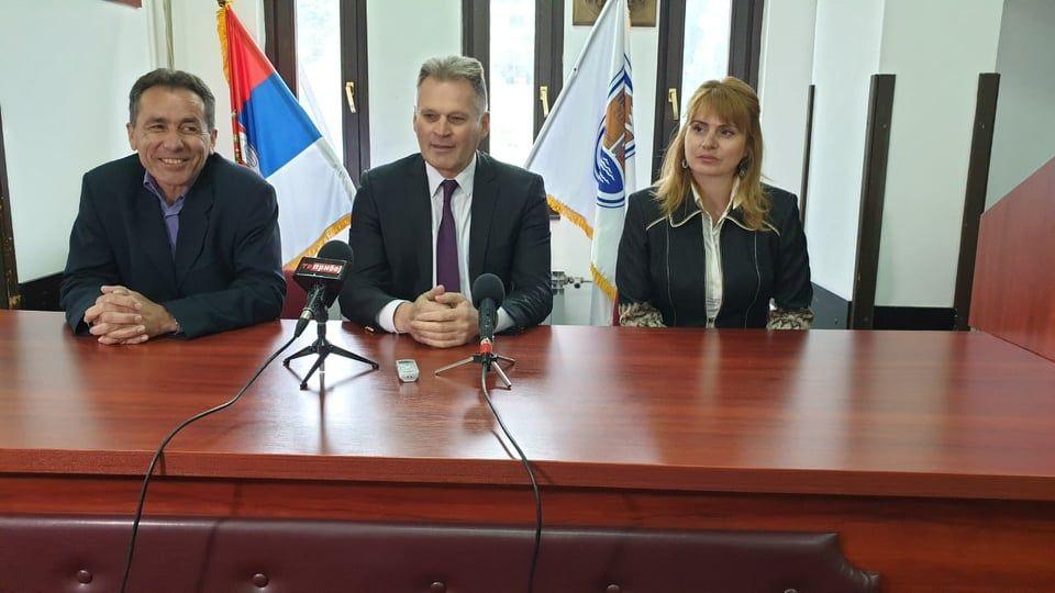 Ристо Поповић, Радосав Васиљевић и Бранка Ракоњац, фото: ГЗС