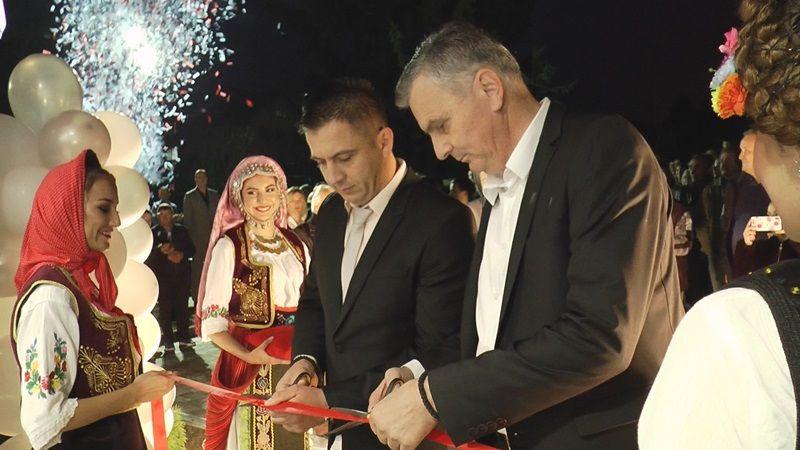 Отварање спортске дворане у Чајетини