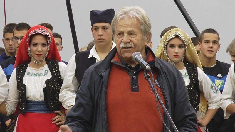 Здравицу одржао најпознатији Златиборац, Љубивоје Ршумовић