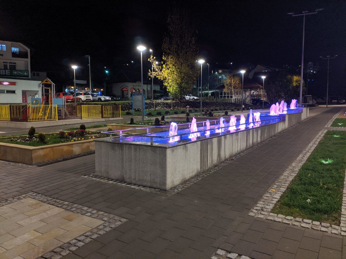 Фонтана на Тргу Војводе Петра Бојовића