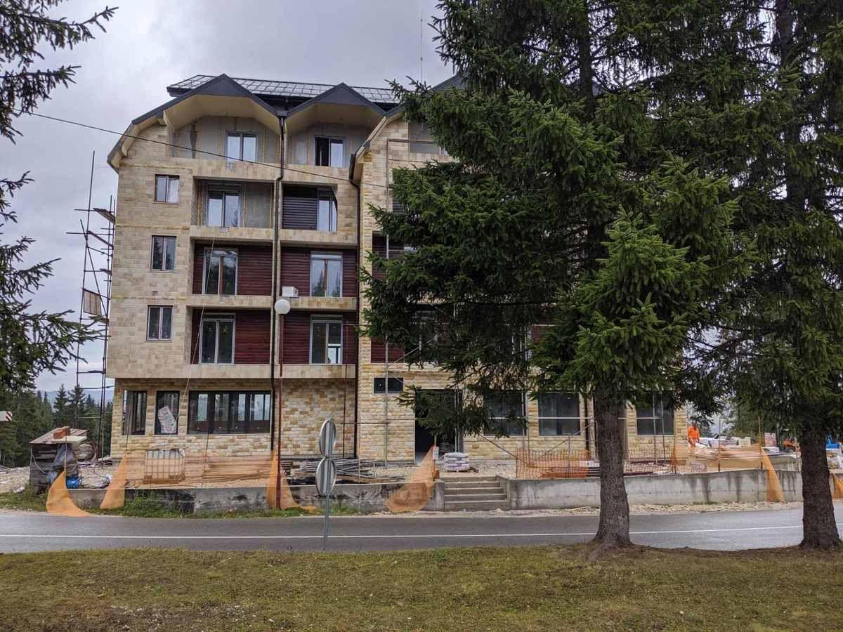 Vojkova zgrada u  izgradnji/ 2019.