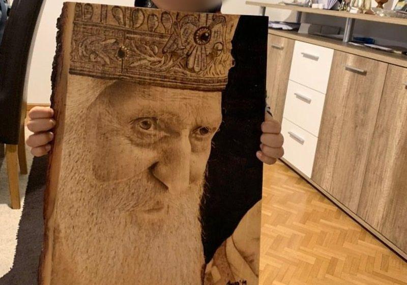 Најтраженији Иванов рад је портрет патријарха Павла