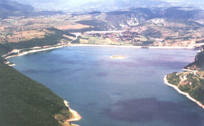 У Кокином Броду је земљана брана и Златарско језеро Фото Архива ЛХЕ