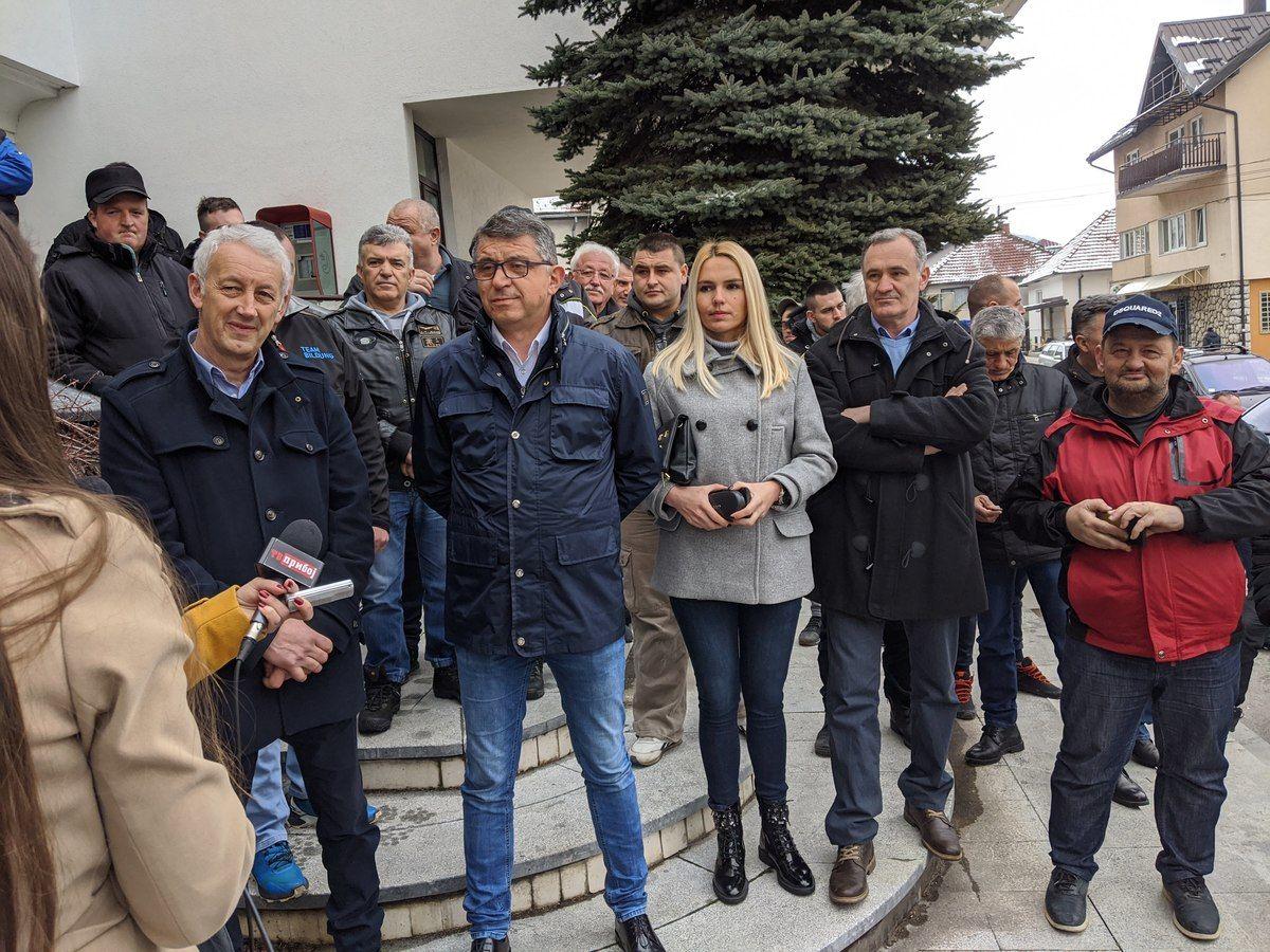 ГГ Опстанак - конференција за новинаре поводом локалних избора 2020. године