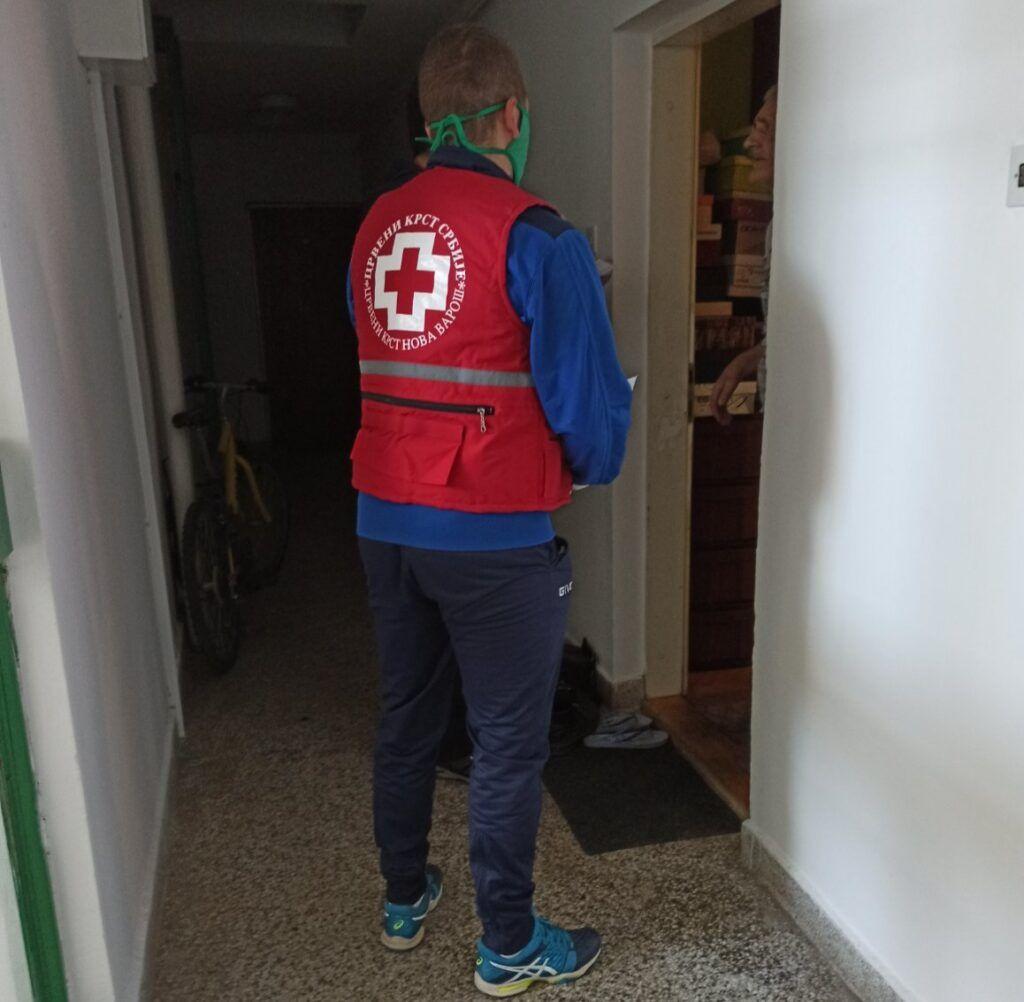 Црвени крст - помоћ