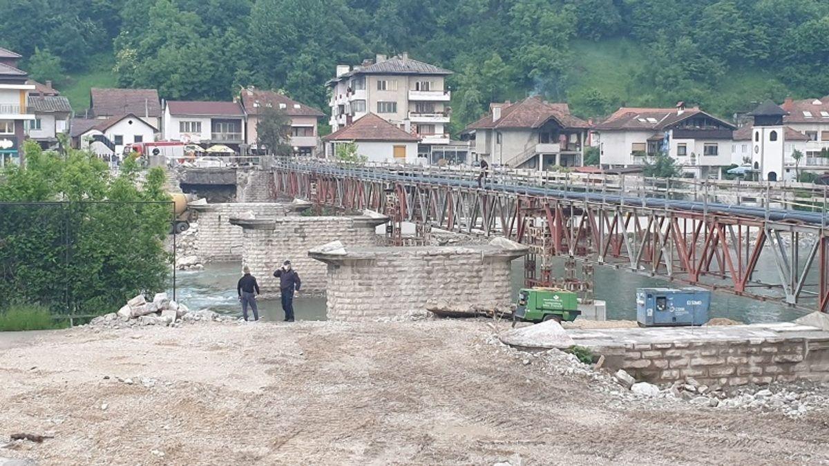 Мушкарац претио да ће са моста скочити у Лим, фото: РИНА
