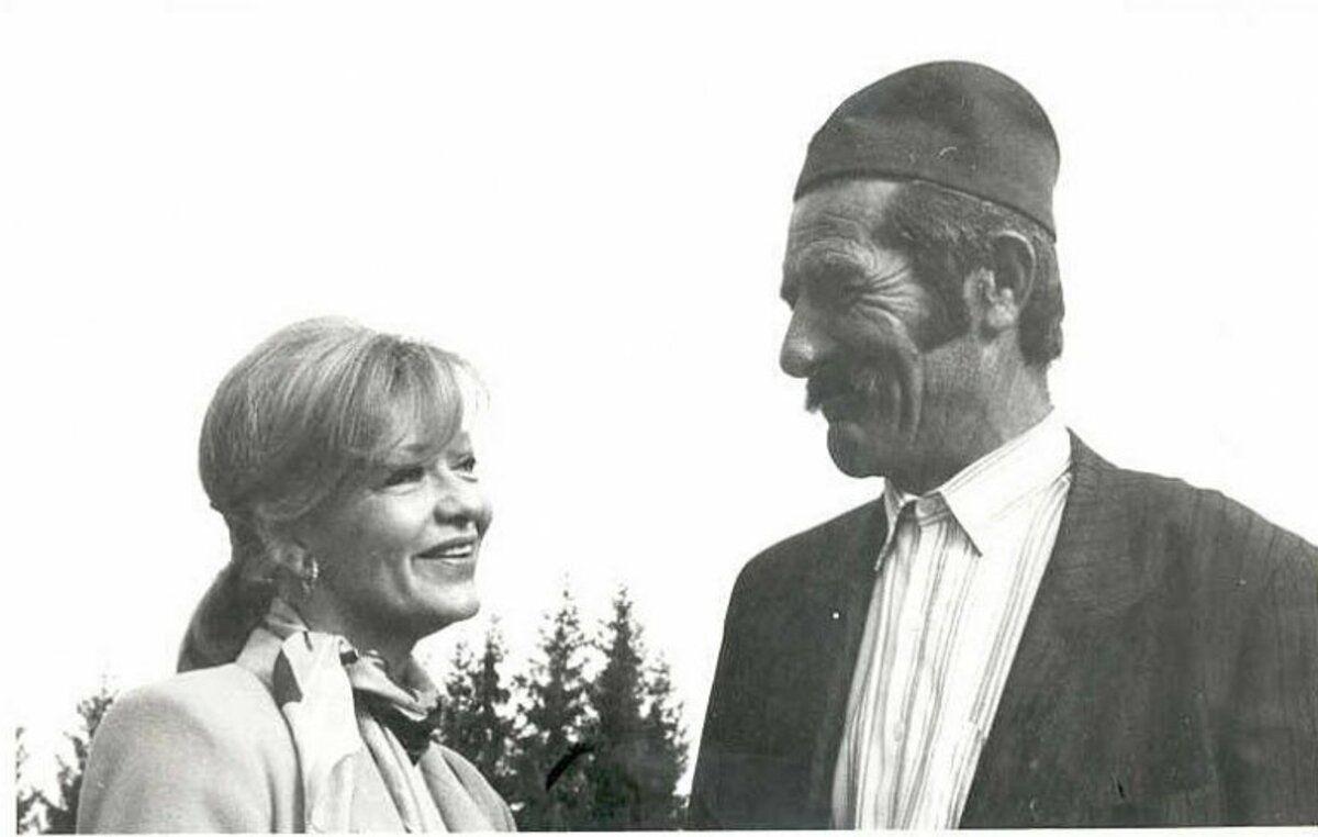 Милена Дравић и Мирчета Вујичић на Златару 1990.  (Фото Д. Гагричић)