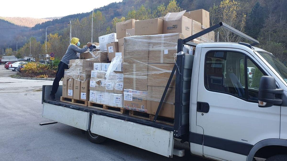 Донација вредна 30.000 еура стигла из Турске у Пријепоље, фото: РИНА