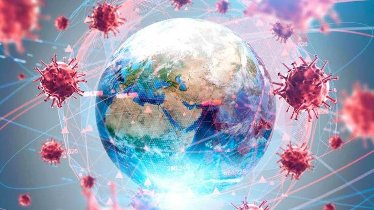 Ilustracija / korona virus