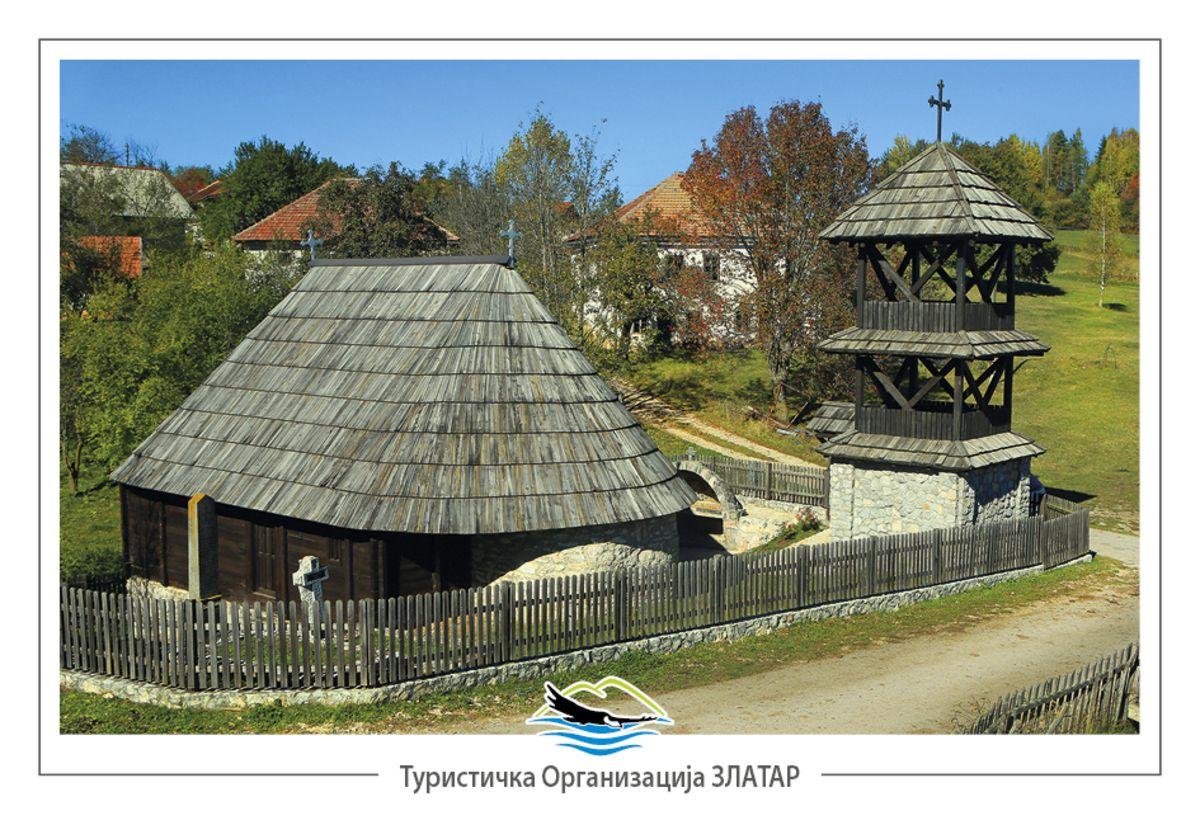 Стара два века, са подрумом - црква у Радијевићима (фото: Станко Костић)