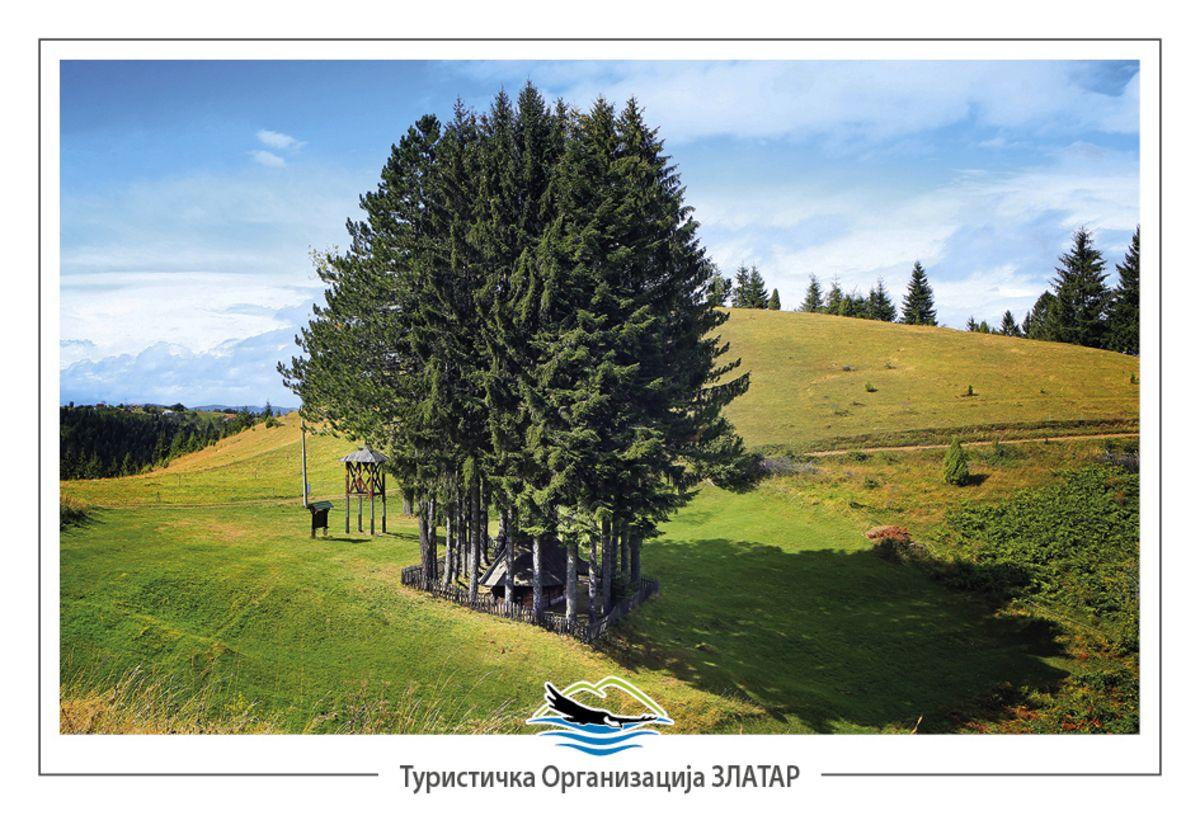 У недрима Муртенице – црква у Пети (фото: Станко Костић)