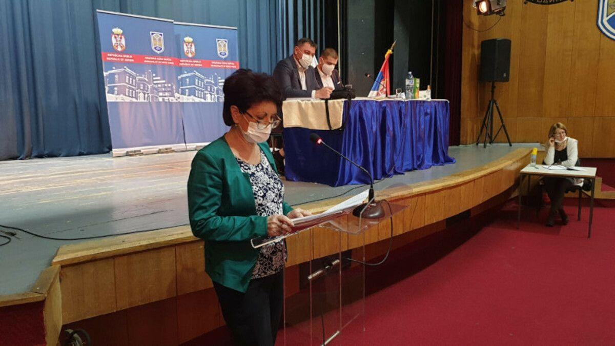 Начелница одељења за буџет и финансије Мирјана Ћировић, Фото: ГЗС