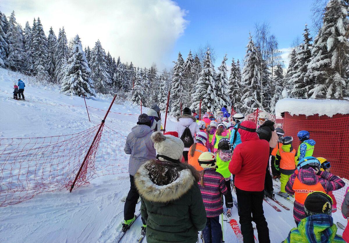 Скијање на Златару, (Фото: Момчило Ђурић)