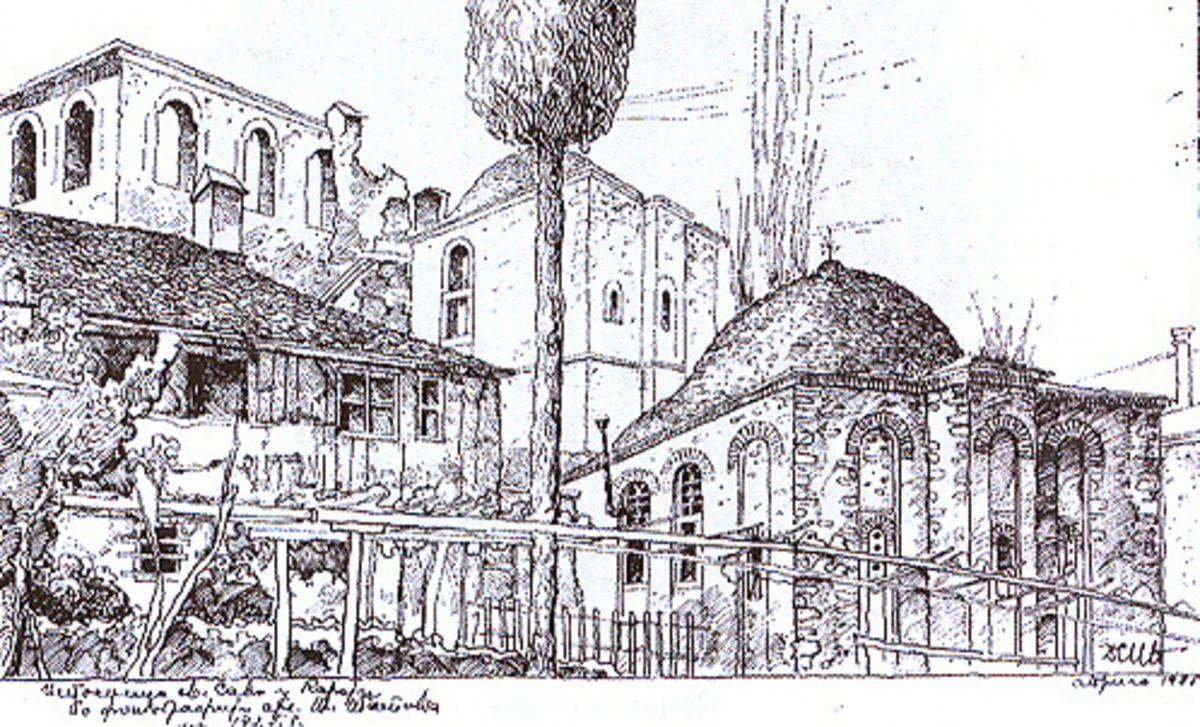 Кареја, цртеж архитекте Ненадовића