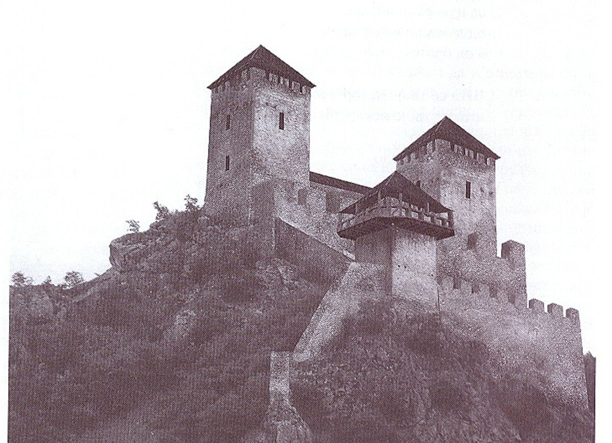 Реконструкција горњег дела тврђаве Милешевац