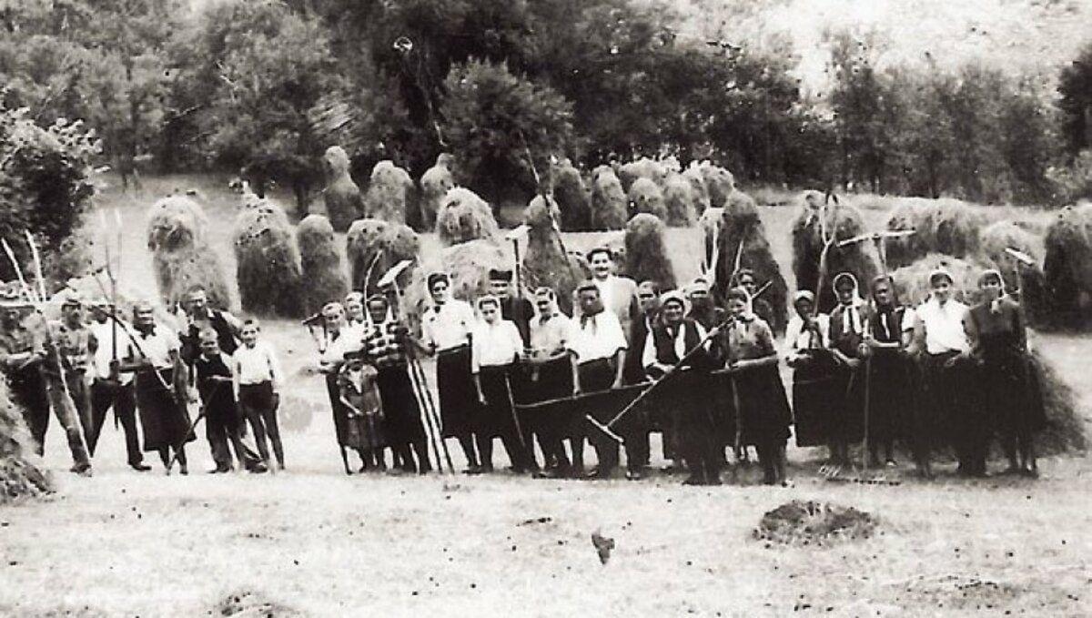 Моба -  комшије код  Младенка Митровића 1964.