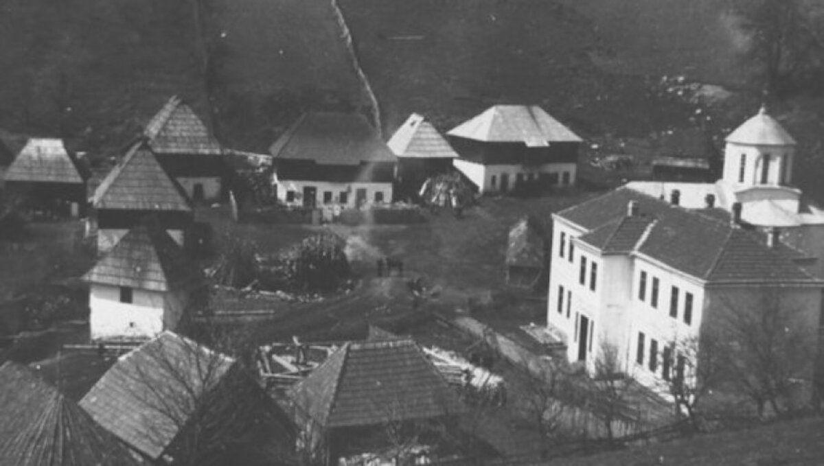 Посада - Насиље и таоци - станица НДХ у школи у Штиткову, фото: Архива Библиотеке у Н. Вароши