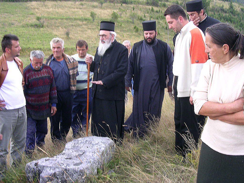 Остаци манастира градина у Ојковици  (фото: Д.Гагричић)