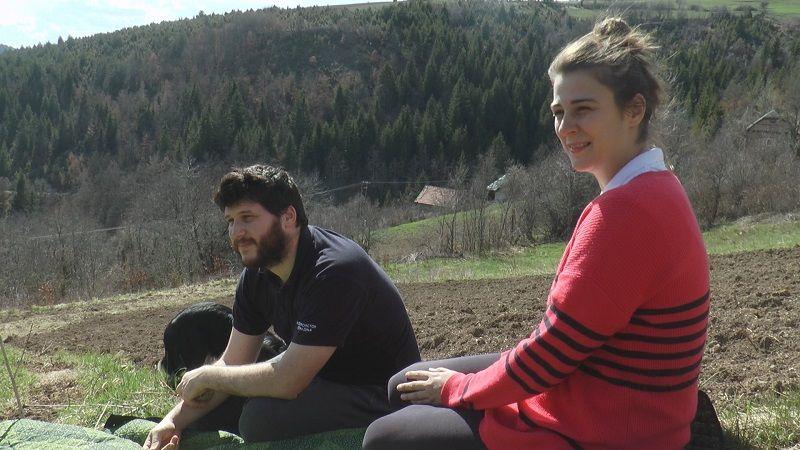 Дуња и Владимир су своју срећу нашли у селу Ојковица код Нове Вароши, (фото: РИНА)