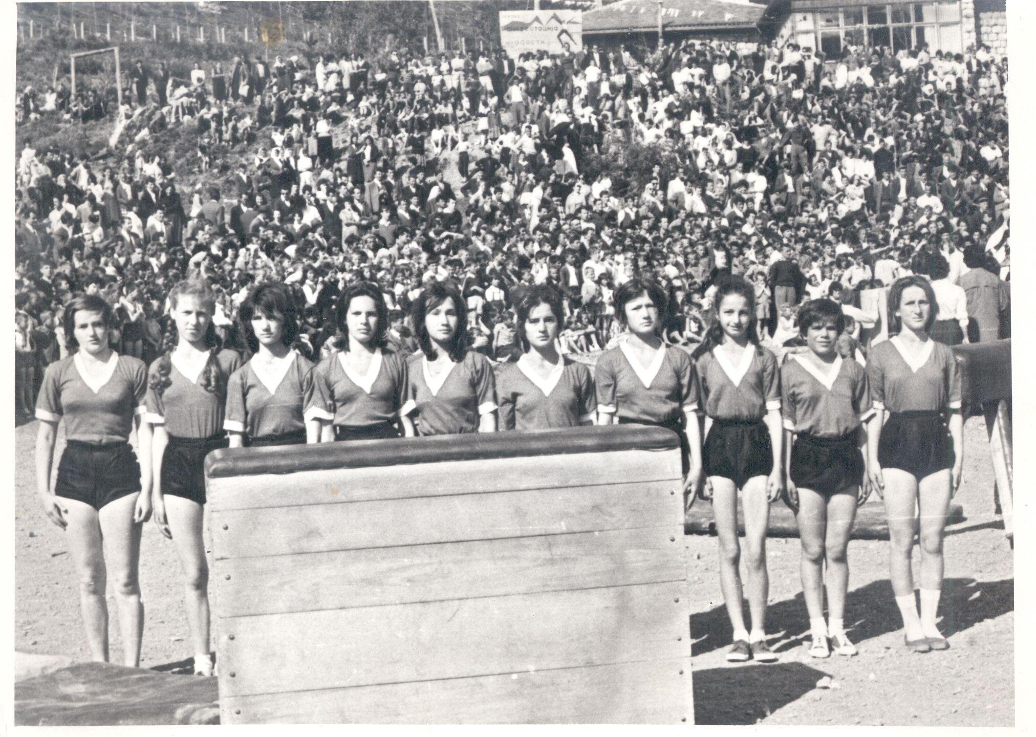 Слет 25. маја 1962. године и Новој Вароши