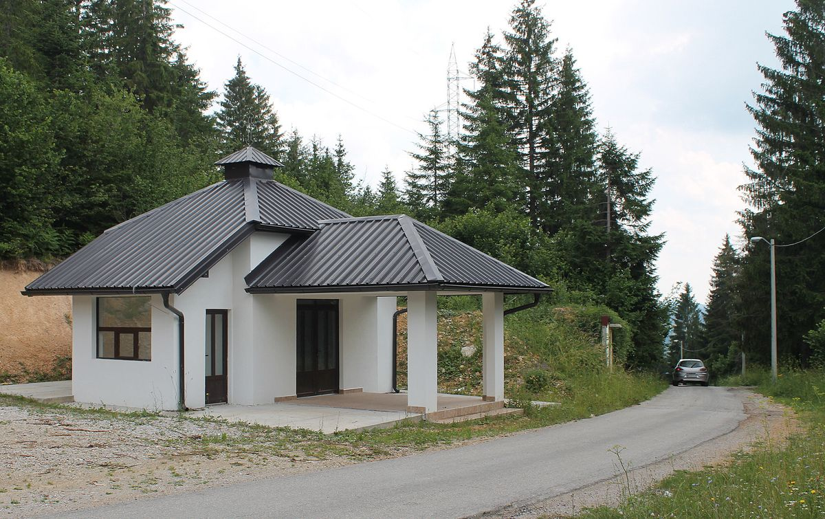 За достојанствен испраћај покојника - капела на Коцељу (Фото:Д. Гагричић)