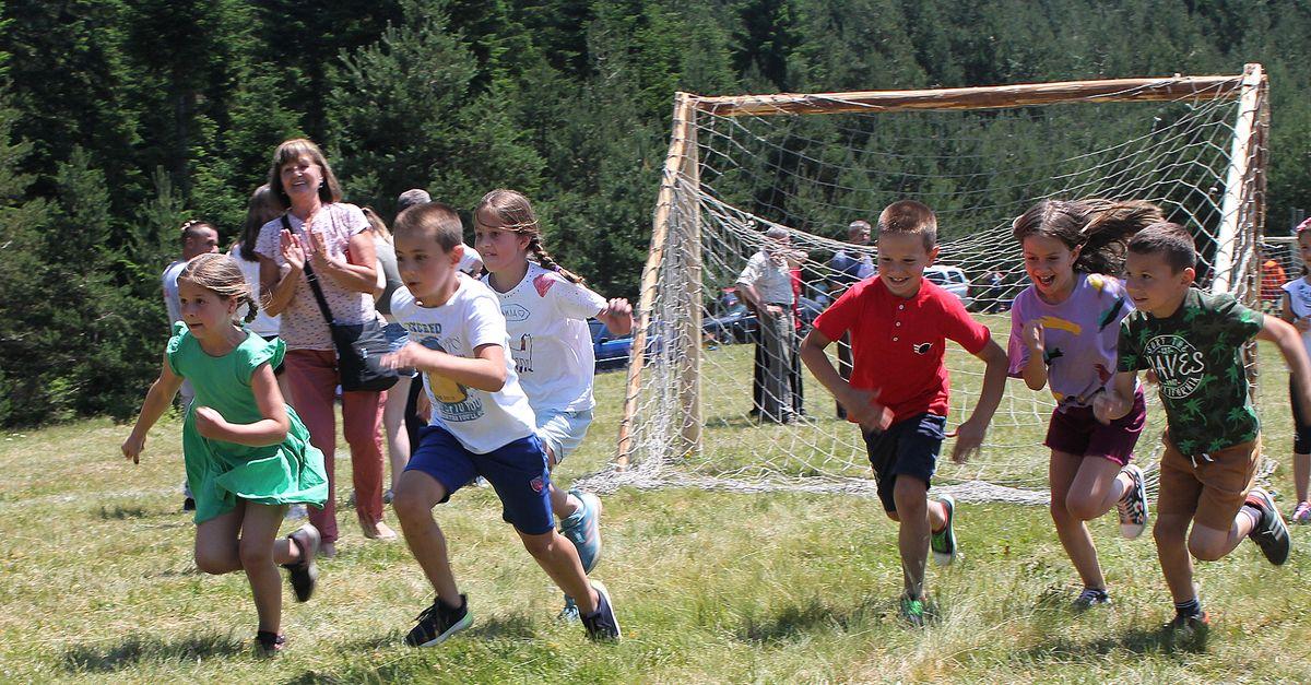 И најмлађи су показали такмичарски дух и брзину