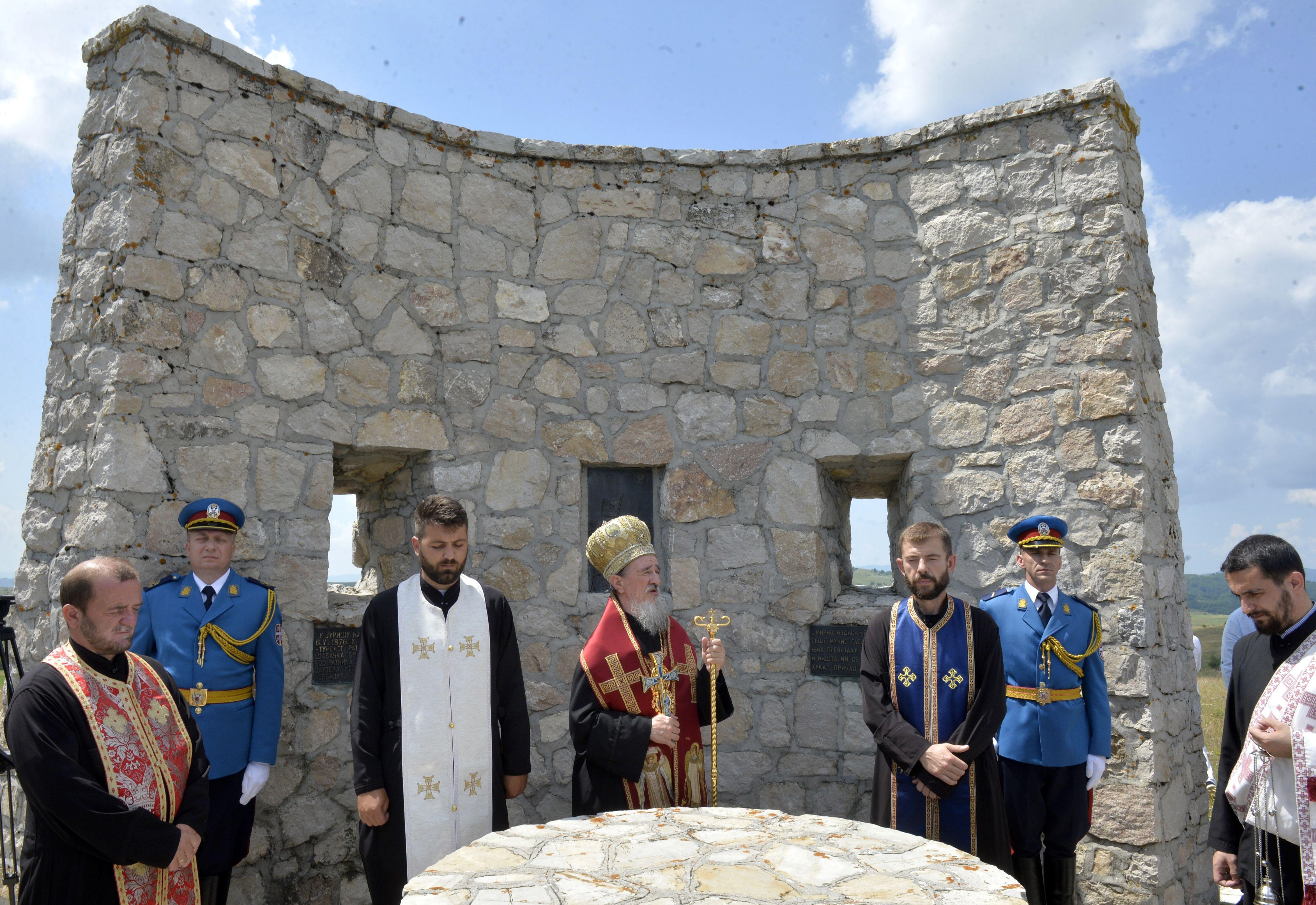 Помен крај споменика Калипољској бици у Љепојевићима