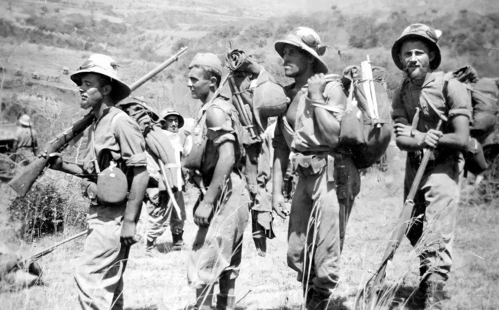 """Војници дивизије """"Пустерија"""" из Етиопије стигли у Стару Рашку (Фото: књига)"""