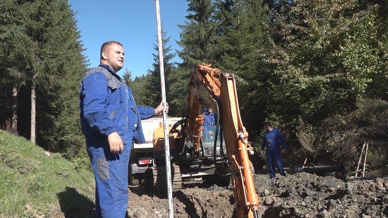 Почела градња канализационе мреже у другој туристичкој зони Златара, фото: ГЗС