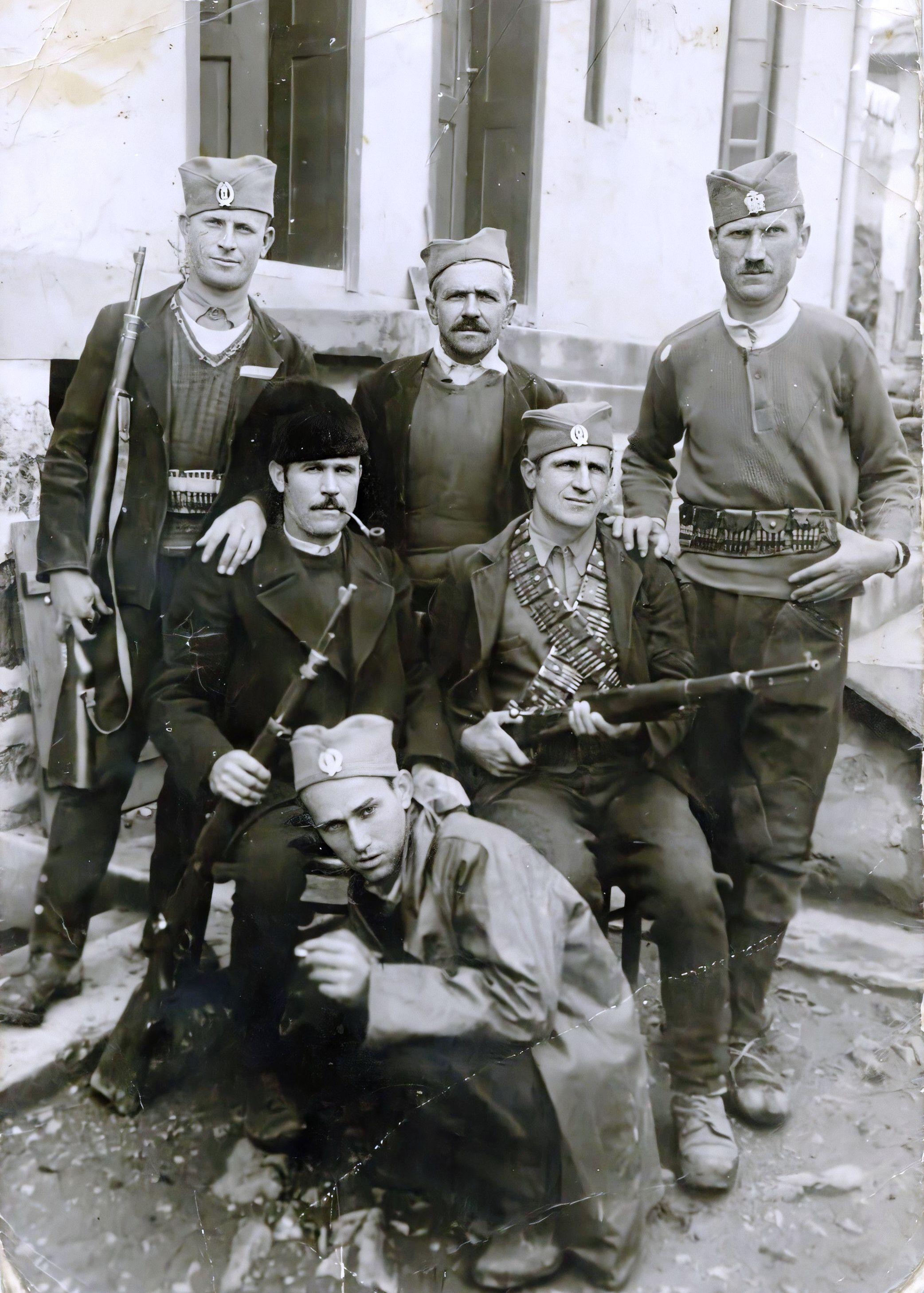 Група четника Милешевског корпуса