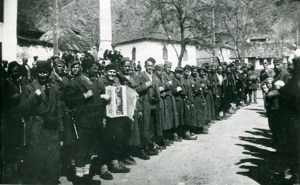 Одред муслиманске милиције у Милешевском срезу