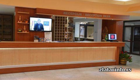 """Recepcija - Hotel """"Panorama"""" Zlatar"""