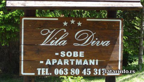 """Vila """"Diva"""" Zlatar"""