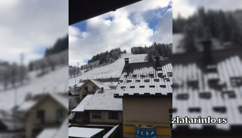 "Pogled na ski stazu - Vila ""Mila"" Nova Varoš"