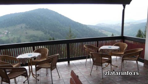 "Pogled sa balkona - Vila ""Zlatarski san"" Zlatar"