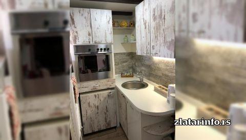 Kuhinja - Apartman Zona Zlatar