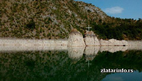 Puljci, mesto gde je bila crkva