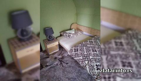 """Spavaća soba - Seososko domaćinstvo """"Nena"""" Uvačko jezero"""