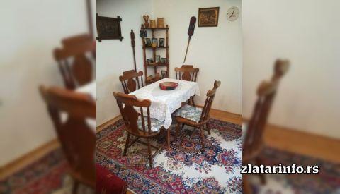 """Dnevna soba - Kuća za odmor """"Amzići"""" Zlatarsko jezero"""